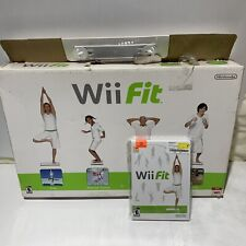 NINTENDO WII BALANCE BOARD WITH WII FIT GAME