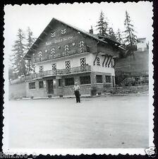 photo ancienne . Valberg . Hôtel  Chalet  Suisse