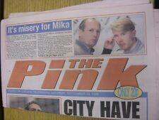 26/09/1998 Coventry Evening Telegraph The Pink: Main Headline Reads: City Have T