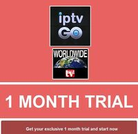IPTV Subscription 1 Month Trial for Mag Android m3u smart TV Openbox Firestick