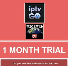 IPTV Sub 1 Month Trial for Mag Android m3u smart TV Openbox Firestick *3 Rooms*