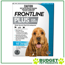 Frontline Plus For Medium Dogs 10-20kg 6 Pack