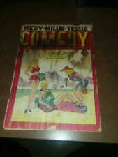 Comedy Comics #7 timely marvel 1949 millie the model tessie typest good girl art