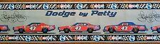 #43 Richard Petty Nascar Classic Wallpaper Border WFP2089