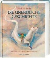 Die unendliche Geschichte Farbig illustrierte Schmuckausgabe Michael Ende Buch