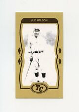 #113 JUD WILSON Negro League Baseball Card