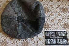 VINTAGE HARRIS TWEED Cappello PANNELLO Patchwork Baker Boy-NAIF VINTAGE... malaticcio Blinder