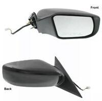 Kool Vue GM04ER Mirror for Silverado//Sierra 1500 14-17//2500 HD//3500 HD 15-17 Right Side Power Manual Folding Heated W//Blind Spot Glass All Cab Types Textured Black