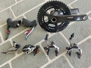 SRAM RED 22 Black 11Speed Groupset With 172.5 cranks 110BCD 52/36 Chainrings