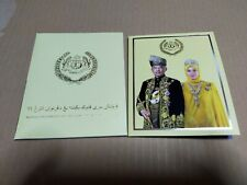 Coin card agong al-sultan abdullah pahang commemorative 2019 unc bu