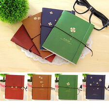 Stationery Diary Journal Notebook String Note Pad Writing Pocket Travel Book Red