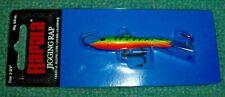 "Rapala W7-Gt 2-3/4"" Green Tiger Jigging Rap Fishing Lure New Free Shipping"