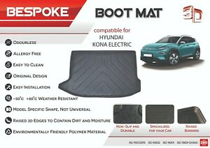 HYUNDAI KONA 2018+ ELECTRIC HYBRID Tailored Rubber Boot Liner Fitted Mat Tray