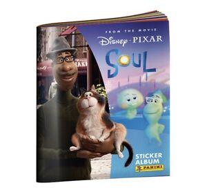 Disney Pixar SOUL Movie +6 Sticker Starter Pack Panini & Card Holder Album