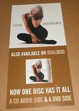 Jennifer Lopez Rebirth Poster 2-Sided Flats 2005 Promo 12x24