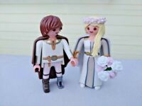 Playmobil Dragons Astrid y Hicks en traje de boda 70045 Novia Bride