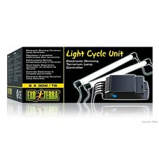 Exo Terra Light Cycle Unit Electronic Dimming Terrarium Lamp Controller 2 X 30 W