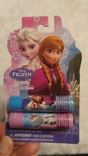 DISNEY FROZEN LIP BALM 2 PACK  *NEW* *FREE SHIPPING* Raspberry and Blueberry