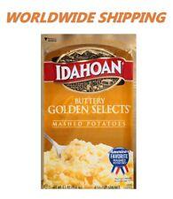 Idahoan Buttery Golden Selects Mashed Potatoes 4.1 Oz WORLDWIDE SHIPPING