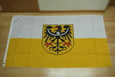 Fahnen Flagge Oberschlesien Tischwimpel Biker Länder, Regionen & Städte Deutschland 30 x 45 cm