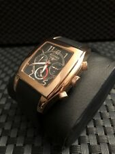New Mens Elysee Chronograph Rose Gold Watch DRESSY CLASSY
