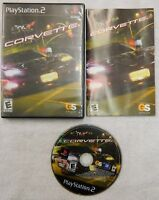 Corvette (Sony PlayStation 2, 2004) Disc Book Case - Complete - Used