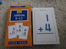 School Zone Addition 0-12 Flash Cards Ages 6+