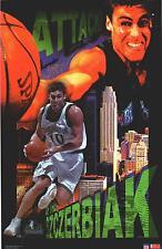 Wally Szczerbiak Minnesota Timberwolves Original Starline Poster OOP