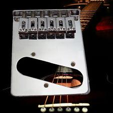 Chrome 6 Flate Style Saddle Bridge for Fender Telecaster Guitar Electric NEW
