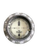 "Scuba Diving Pre-Owned Tusa Compass Module Excellent Condition! 2"" Diameter!"