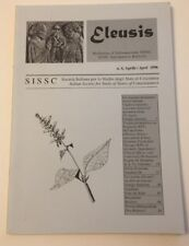Eleusis No. 4 1996 Amanita Ketamine psychedelic therapy salvia divinorum kykeon