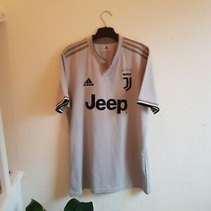Juventus 2018/19 Away Football Shirt Adidas Medium Mens