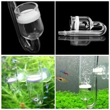 CO2 Diffuser Glass Aquarium Carbon Dioxide Reactor Atomizer and make  CO2 Bubble