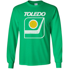 Toledo, Goaldiggers Hockey, IHL, Retro, 1970s, Long Sleeve T-Shirt
