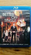 Better Off Single (Blu-ray Disc, 2016) Former Rental  Excellent Condition