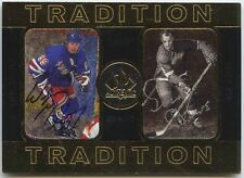 Wayne Gretzky & Gordie Howe 1998 SP Authentic Tradition Dual Auto Autograph /158