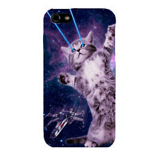 iPhone 5 5S Galaxy Star Wars Case Cover Cat Kitty Kittens with Lasers