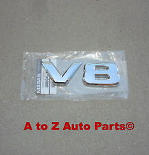 NEW 2009-2011 Nissan Titan, Armada CHROME V8 3D EMBLEM, OEM Nissan!