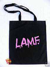 LAMF like a muther*** punk rock cotton Tote shopper Bag