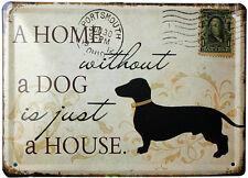 Vintage Tin signs Dog Antique metal poster for wall Home Pub Garage Bar decor
