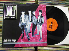 LONELY BOYS JINGLE FOR A  JUNGLE COBRA RECORDS 1988 ITALY PUNK LP