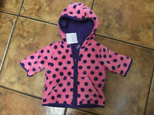 Nice spotted velour top from Next.pockets and zip.to fit up to 3 mths.new.