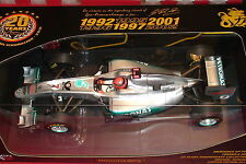 1:18 Minichamps Michael Schumacher MERCEDES GP02 Spa Promo Voiture ltd to 2011 pcs