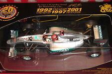 1:18 Minichamps Michael Schumacher Mercedes GP02 Spa Promo Car Ltd to 2011 pcs