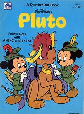 Pluto coloring book RARE UNUSED
