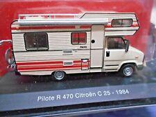 CITROEN C 25 C25 R 470 Pilote Camping Camper creme Wohnmobil IXO Altaya 1:43