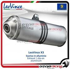 Leovince X3 Enduro steel homologated slip-on exhaust SUZUKI DR 650 SE 1996>2015