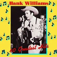 Hank Williams - Hank Williams 40 Greatest Hits [New Vinyl] Holland - Import