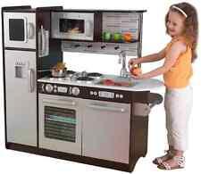 NEW KidKraft Uptown Espresso Kitchen Kids Children Toy Play Game FREE SHIPPING