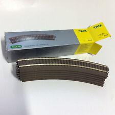 Trix 62230- 6 Stück (1xVerpackung) C-Gleis gebogen R2=437,5mm 30° neu OVP H0 DC